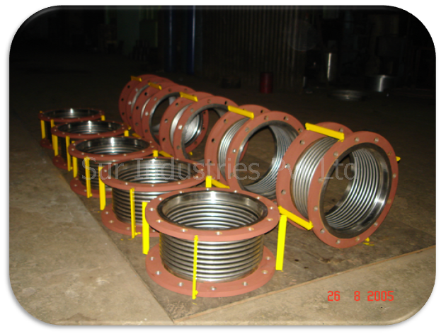 Sur Industries Private Limited :: Metallic Bellows Expansion Joint-SIPL